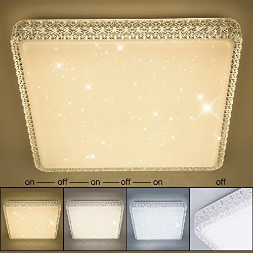 From 47.93 Vingo Starlight Led Ceiling Light Wall Lamp 60w Rund Farbwechsel