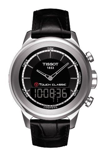 Tissot T-Touch Classic Black Quartz Touch Mens Watch T0834201605100 Tissot. Save 7 Off!. $628.95