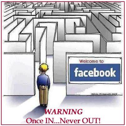 Warning! #facebook #socialmedia #humour