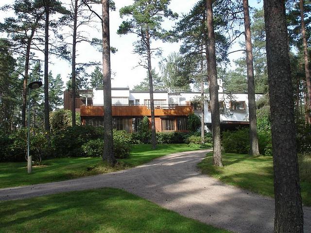 Alvar Aalto, villa Mairea in Noormarkku