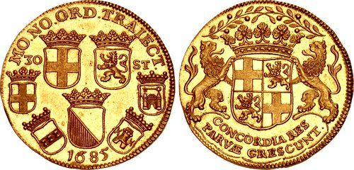 LOW COUNTRIES, Republiek der Zeven Verenigde Nederlanden (Dutch Republic). Utrecht. 1581-1795. AV 'Daalder van 30 stuiver' (36mm, 20.97 g, 12h). Dated 1685.