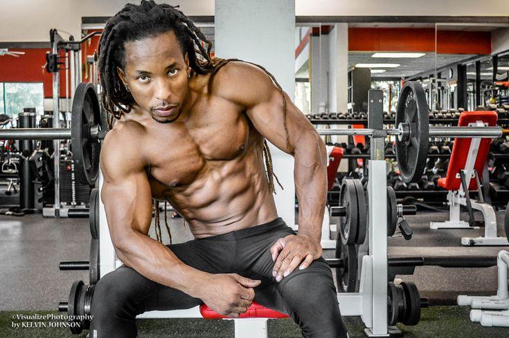 torre washington veganistische bodybuilder