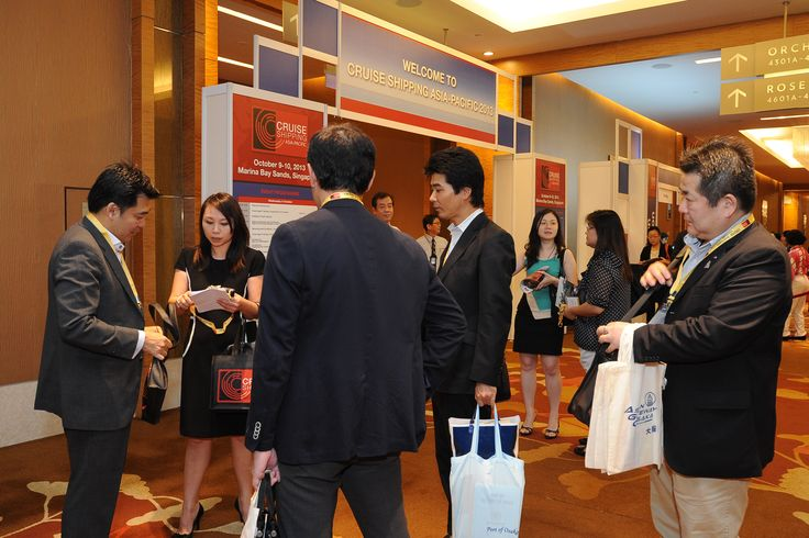 Waiting to enter the State of the Cruise Industry in Asia during the Cruise Shipping Asia-Pacific conference
