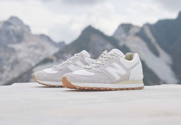 "The END. x New Balance M575END ""White Marble"" Drops This Weekend."