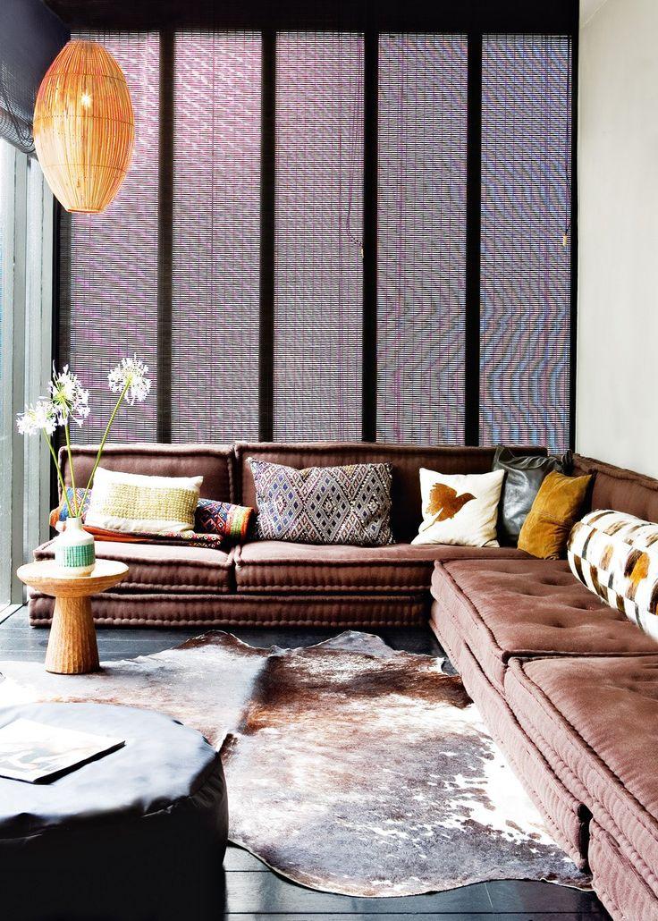 Un petit salon accueillant - Marie Claire Maison