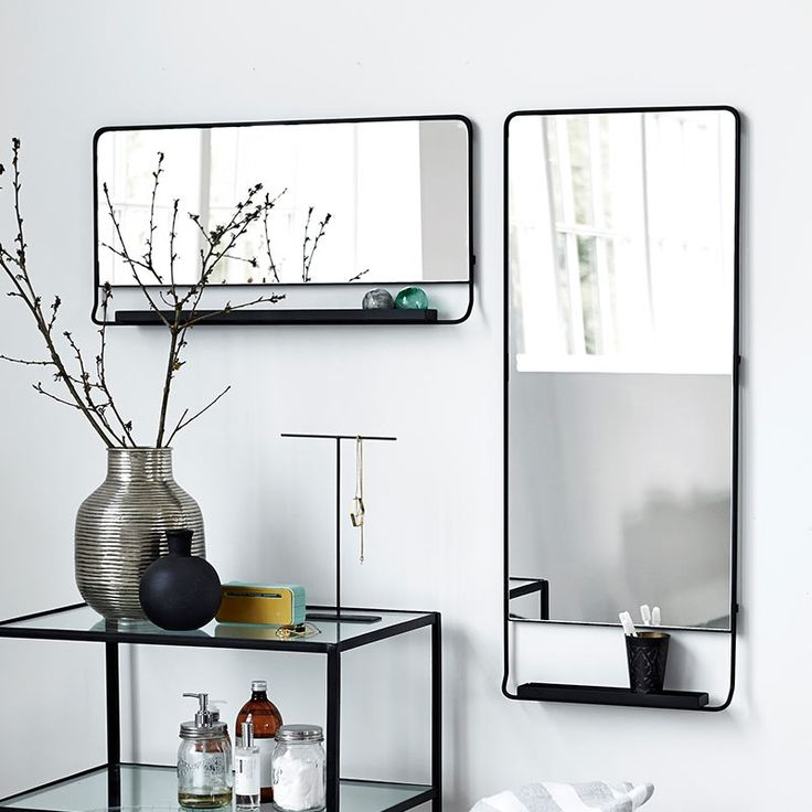 kuhles sideboard badezimmer liste images und dababfedaccc black framed mirror mirror with shelf