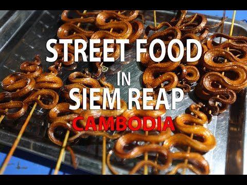 Street food in Siem Reap / Cambodia - YouTube