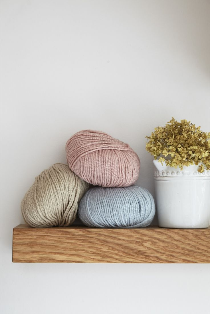 Debbie Bliss CASHMERINO ARAN is one of my most popular ranges. Soft and gentle against the skin, it is perfect when you want a touch of luxury in your knit. Aran weight yarn.