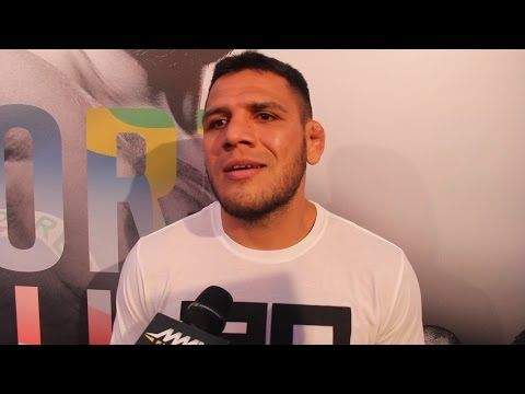 Rafael dos Anjos Suggests UFC Fights With Nick Diaz, Robbie Lawler Next