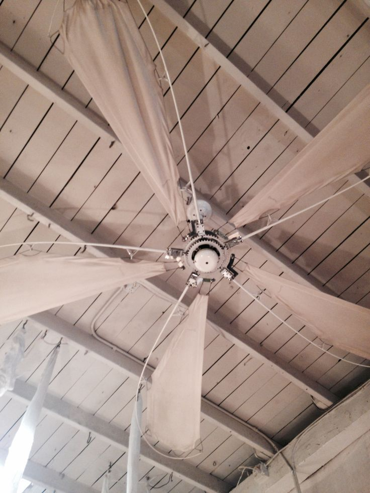 One Of A Kind Ceiling Fan Made From Fishing Poles And