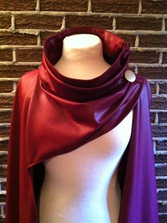 Scarlet Witch cape made by Atelier LS