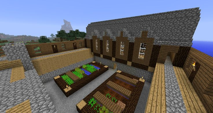 Age of Empires-inspired barracks in Minecraft