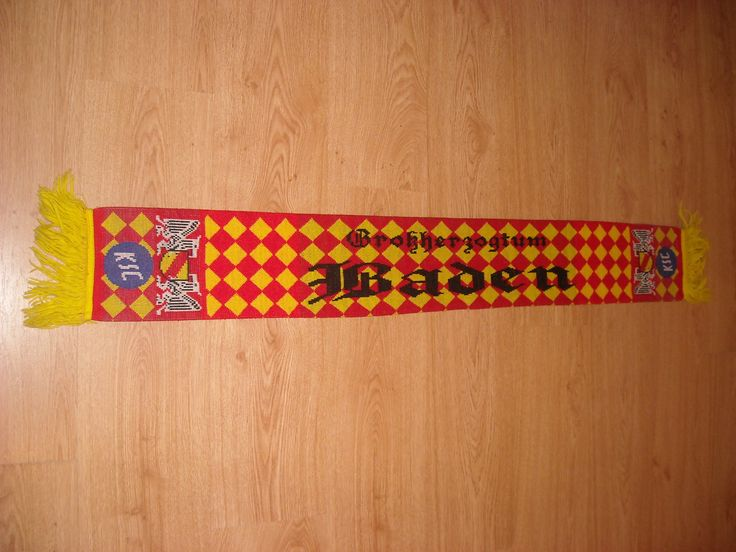 Karlsruher SC Scarf You can Buy It from www.ScarvesForSale.eu