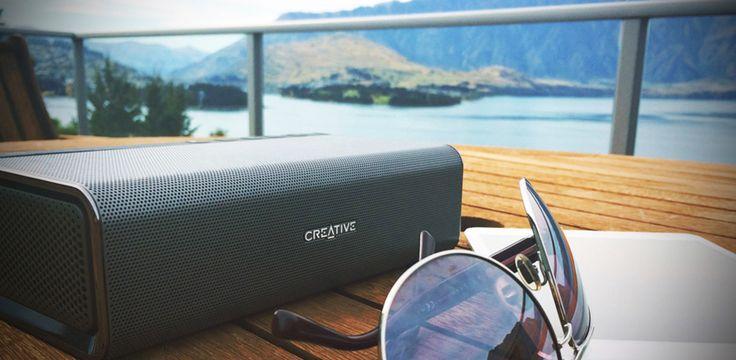 Sound Blaster Roar - Altoparlante wireless Bluetooth compatto portatile con NFC - Creative Labs (Italia)