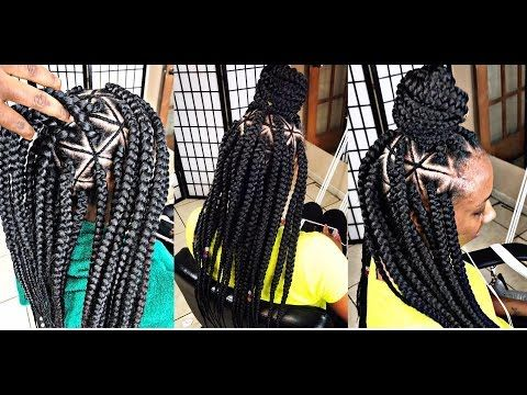 Braids By Twosisters Inspired Spider Web Braids Video