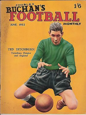 CHARLES BUCHAN'S FOOTBALL MONTHLY MAGAZINE - June 1953