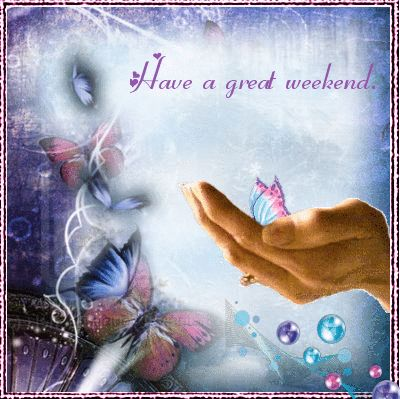 Have a great weekend cute animated friend weekend friday sunday saturday greeting weekend greeting