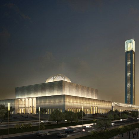 Coming soon!    KSP Jürgen Engel Architekten won a competition to design the Mosquée d'Algérie