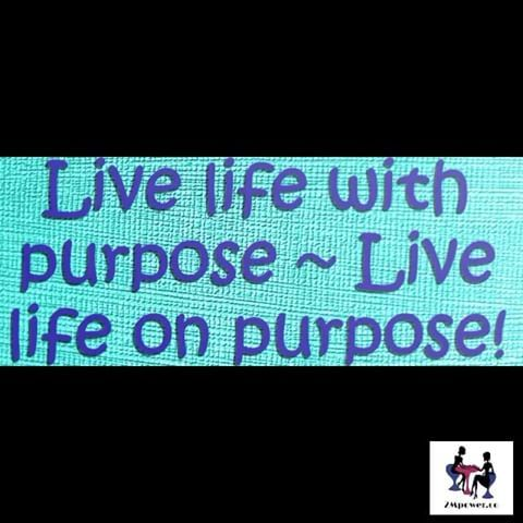 Purpose gives us focus and meaning. Don't leave without it today! #liveonpurpose #purposeoflife #focus #meaning
