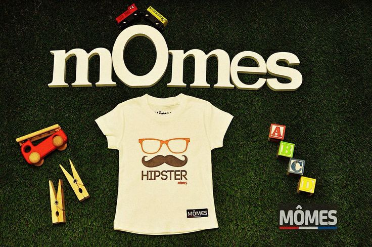 Hipster Mômes! Duke feb Hipster Mômes, organic tee for kids! Visit our store if you wish to purchase one! www.momes-store.com