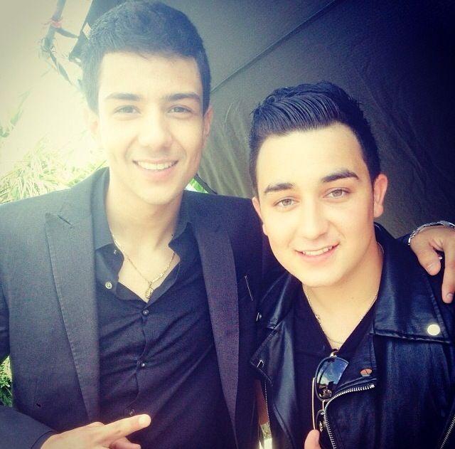 Kevin Ortiz con Luis Coronel ❤️