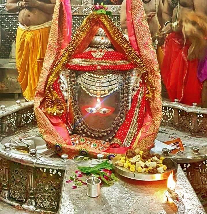 #Bhasma #Aarti pic of Shree #Mahakal #Ujjain - Apr. 30             . . . Follow our FB page: www.facebook.com/ujjaintravel   . . . #शिव#उज्जैन#महाकाल#ॐ#mahakal#mahakalcity#ujjain#loveujjain#ujjaindiaries#Mahakaleshwar#shiv#shivratri#shiva#omnamahshivay#bholenath#jaimahakal#jaibholenath#harharmahadev#mahadev#travel#tourism#MPTourism#ujjain_travel#temple