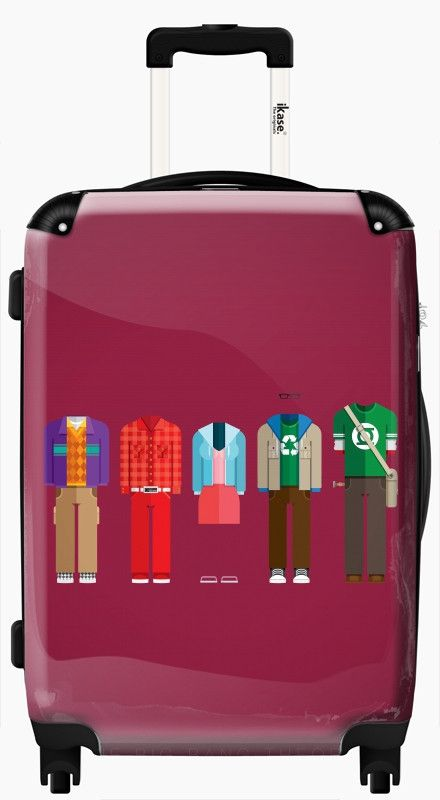Product Features With IKASE Be Trendy & Unique! Easy to recognize ! For all our suitcases, you can find 3 deals: 20'' carry-on (All Airlines cabin approved) 24'' check-in (All airlines check-in approv