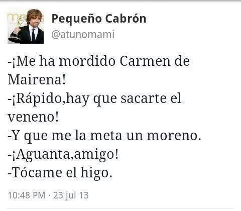 Mordedura de Carmen de Mairena