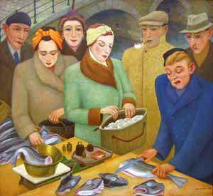 """""""De viskraam"""" (1948)"""