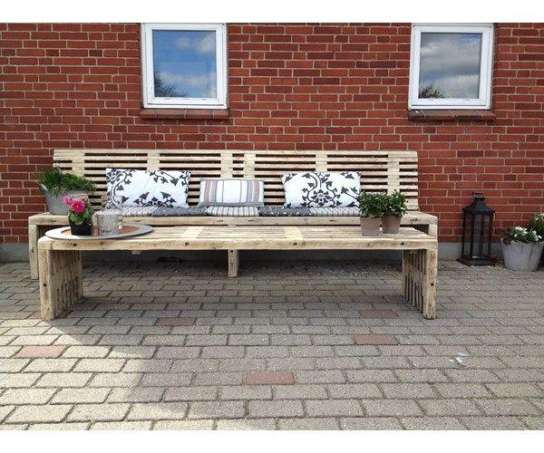 Havemøbelsæt, Traller, trøæ, Lækkert sæt eller bænk (