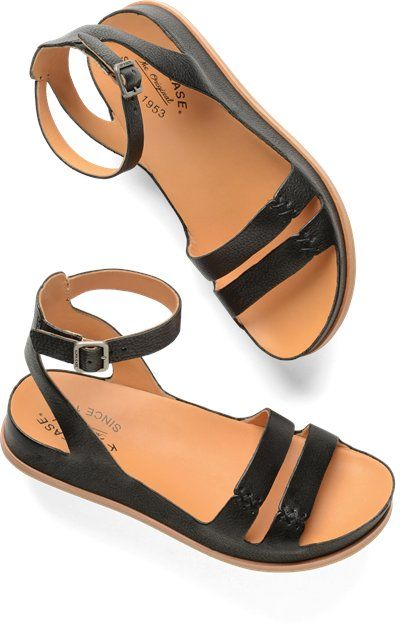 Shop Kork-Ease's wide selection of wedges, heels, boots, clogs and sandals, including the Kork-Ease Audrina in Black on Korkease.com.