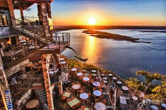 The Oasis Lake Travis – Sunset Capital of Texas | Pinned by www.austinsucculents.com for our friends