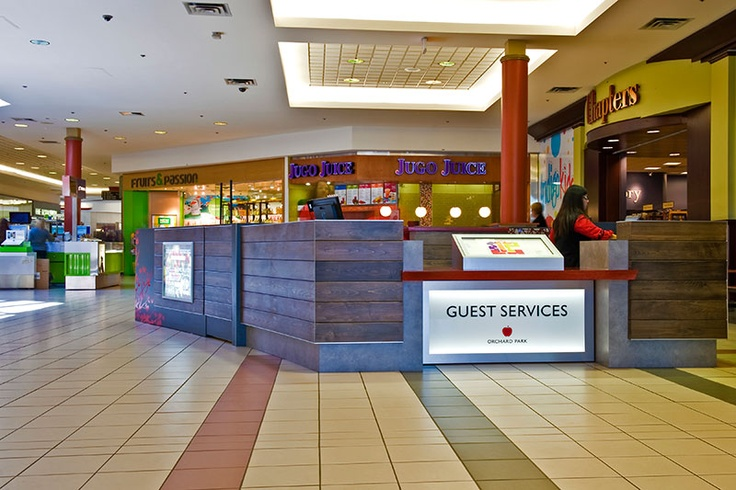 Guest Services Kiosks For Orchard Park Shopping Centre