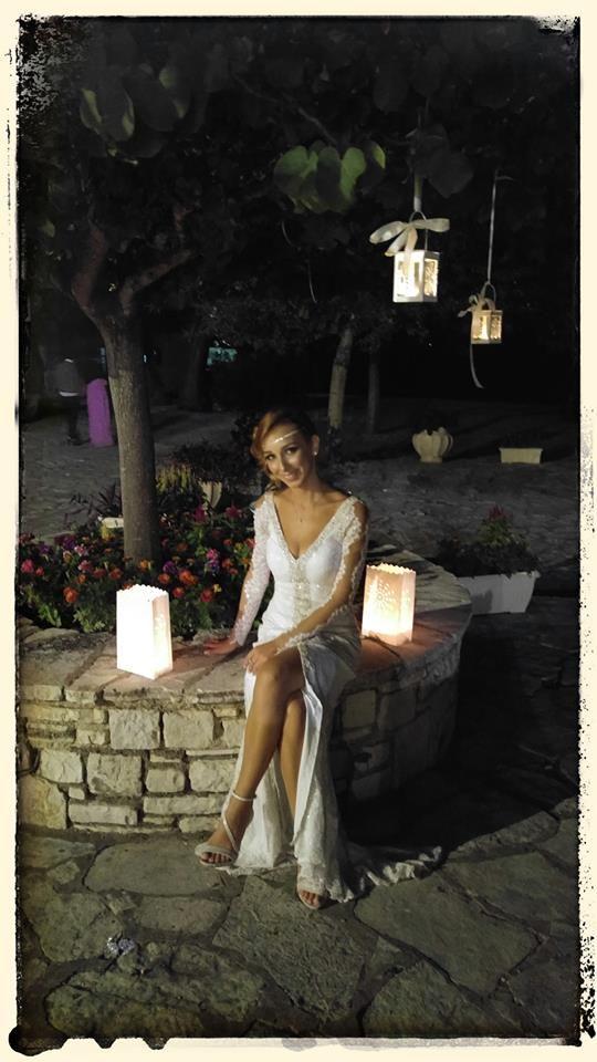 Real bride Maria by Marianna Kastrinos