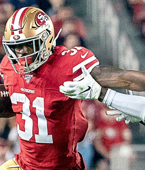 Raheem Mostert Expecting The Faithful To Create A Neutral Site For 49ers Saints 49ers Nfl 49ers Nfl Football 49ers