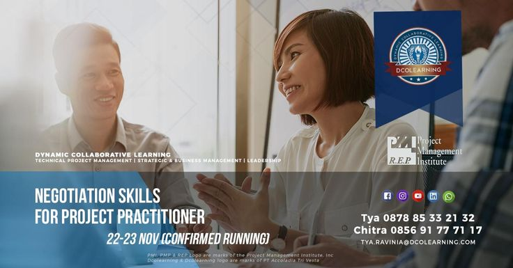 This 2-day workshop program of ours is confirmed to be running in November 2017. Contact our team for more information and book your seat early. Let's close this year stronger with more development programs under your belt. Keep learning. Stay dynamic. www.dcolearning.com  #training #negotiationskil #projectmanagement #jakarta #indonesia