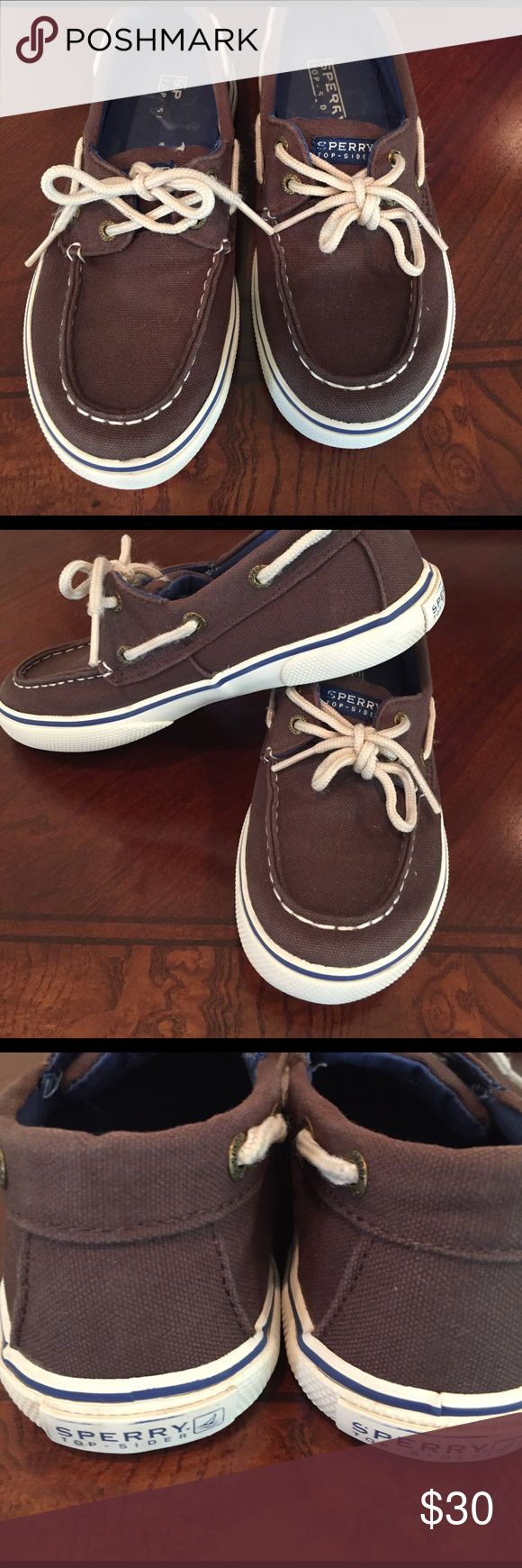 Sperry shoes for kid Excellent condition brown sperrys used a couples of times Sperry Top-Sider Shoes Sneakers