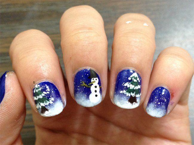 Top Ten Weihnachtsessen.Top 10 Weihnachten Nail Art Designs Für Anfänger Nails Make Up