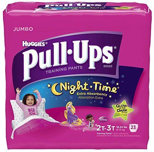 Huggies Pull-Ups Nighttime Training Pants - Girls - 2T-3T - 23 ct by Huggies