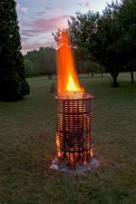 Backyard mini-incinerator