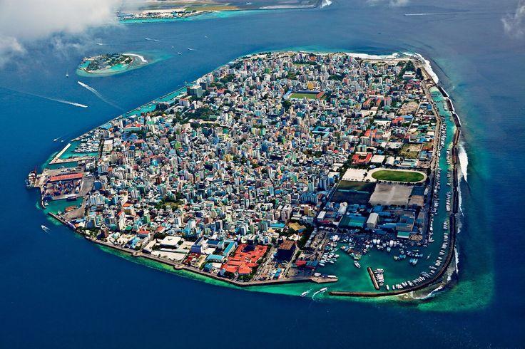 Malè, capital of the Maldives