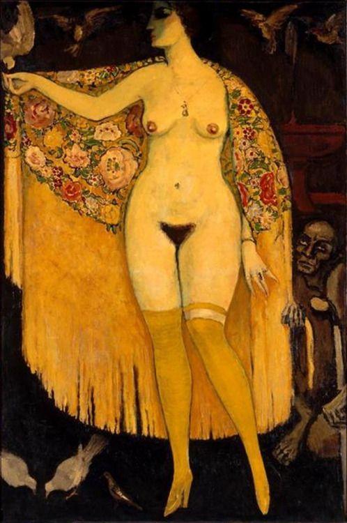 Kees Van Dongen. Le châle espagnol 1913