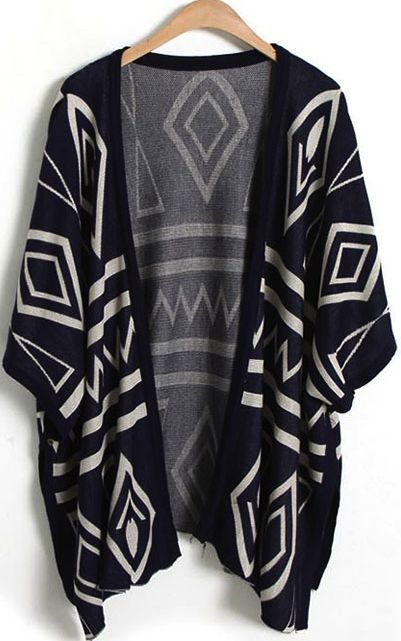 Geometrical shawl