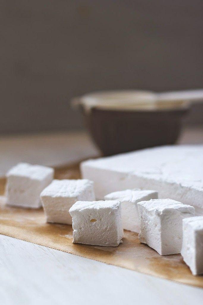 Rezept für selbst gemachte Marshmallows / Mäusespeck / Schaumzucker mit DIY Anleitung