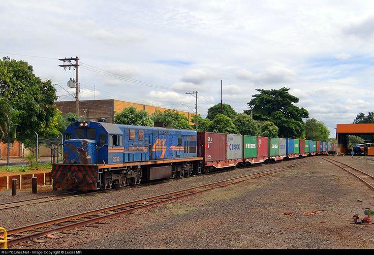 RailPictures.Net Photo: 2532 FCA - Ferrovia Centro Atlantica GE U20C at Ribeirao Preto, Brazil by Lucas MR