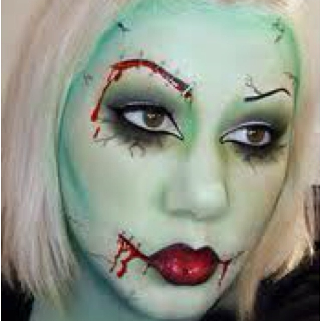 53 best Doll/ghost/zombie makeups images on Pinterest | Zombie ...