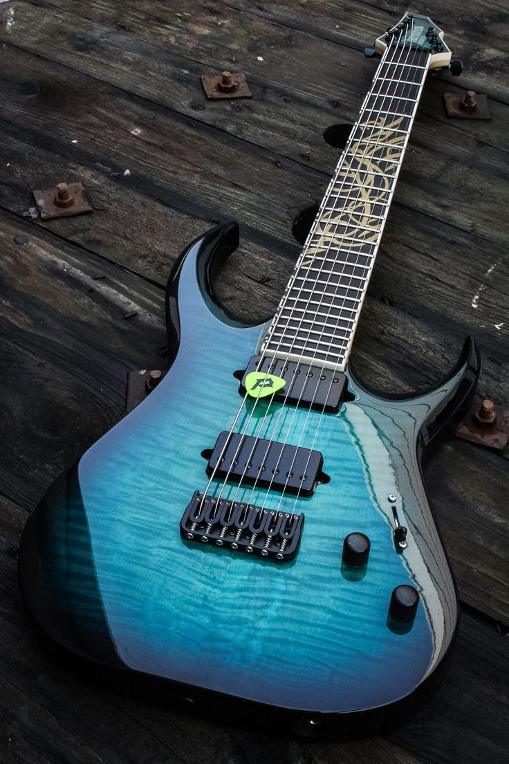 daemoness guitars awesome guitar company from england this 7 string is gorgeous 39 guitars. Black Bedroom Furniture Sets. Home Design Ideas