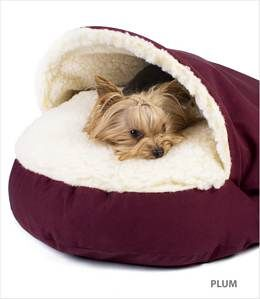 Small Cozy Cave Dog Bed