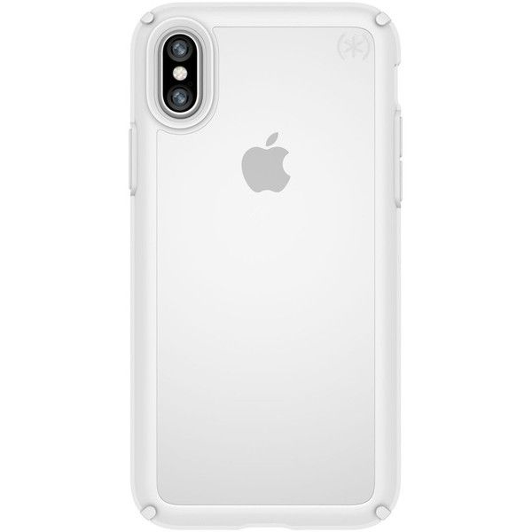 Men's Speck Transparent Iphone X Case ($40) ❤ liked on Polyvore featuring men's fashion, men's accessories, men's tech accessories and mens wallet iphone case