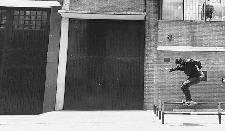 Skateboarding Colombia por Andrew Perdomo.